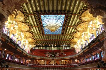 Cosas-que-visitar-en-Barcelona-durante-el-MWC-Palau-de-la-Música