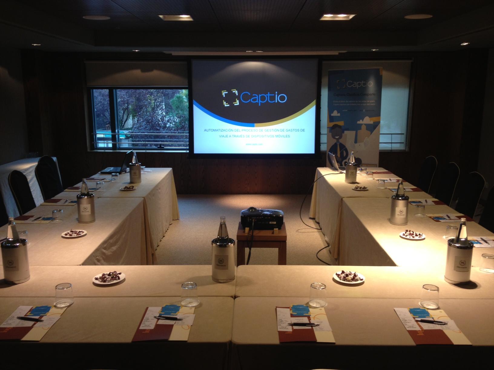 Presentación de Captio en el Forum Busness Travel