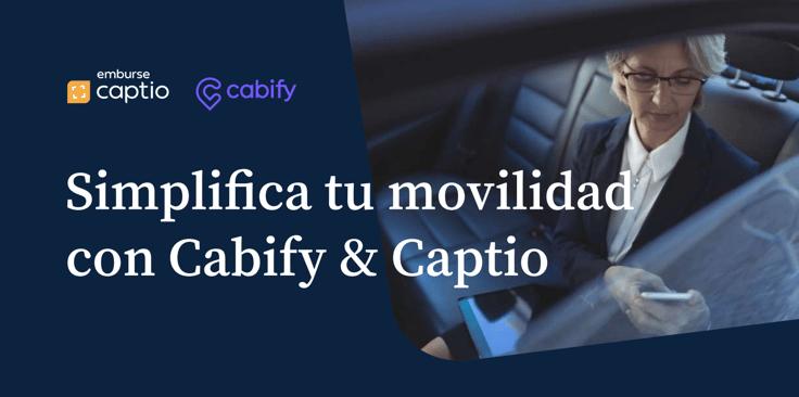 Captio y cabify