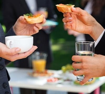 protocolo comidas de negocios