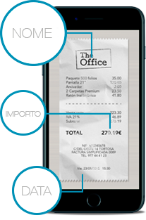 Lettura automatica delle spese aziendali
