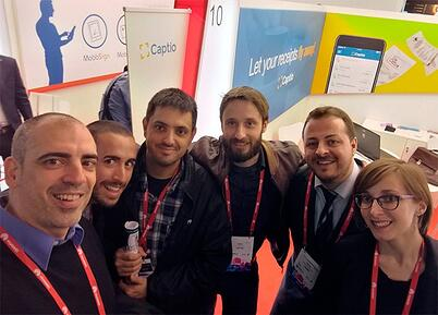 Captio Mobile World Congress MWC