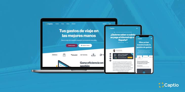 creatividad nueva pagina web