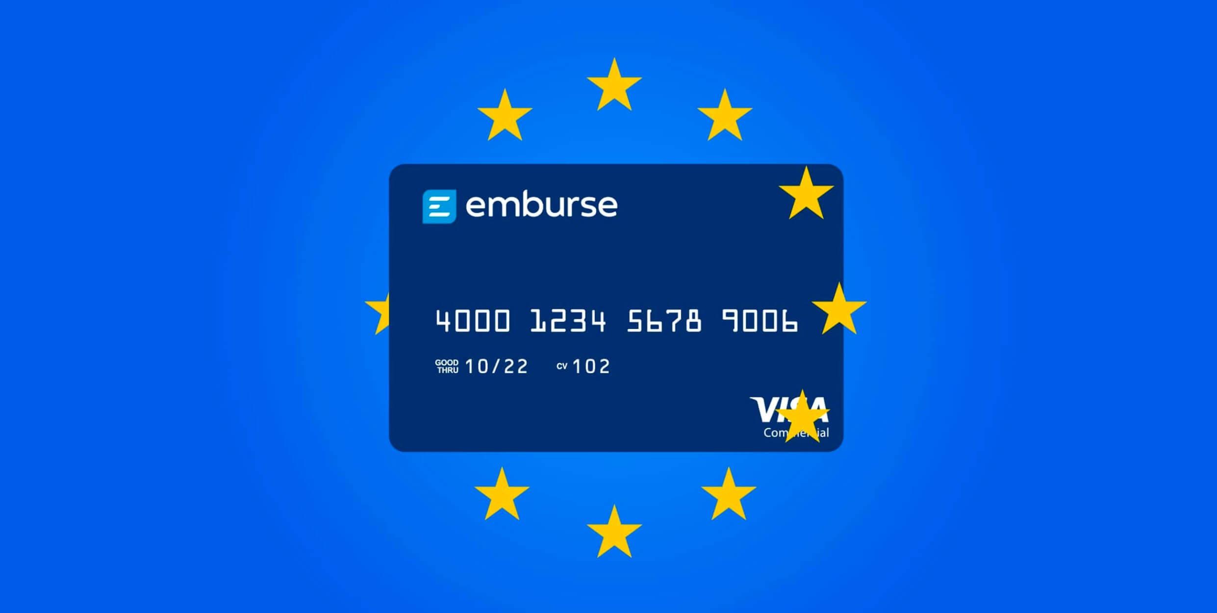 emburse cards mercado europeo captio