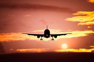 rutas aéreas
