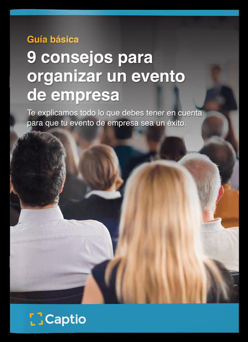 [Guía]: 9 Consejos para organizar un evento de empresa