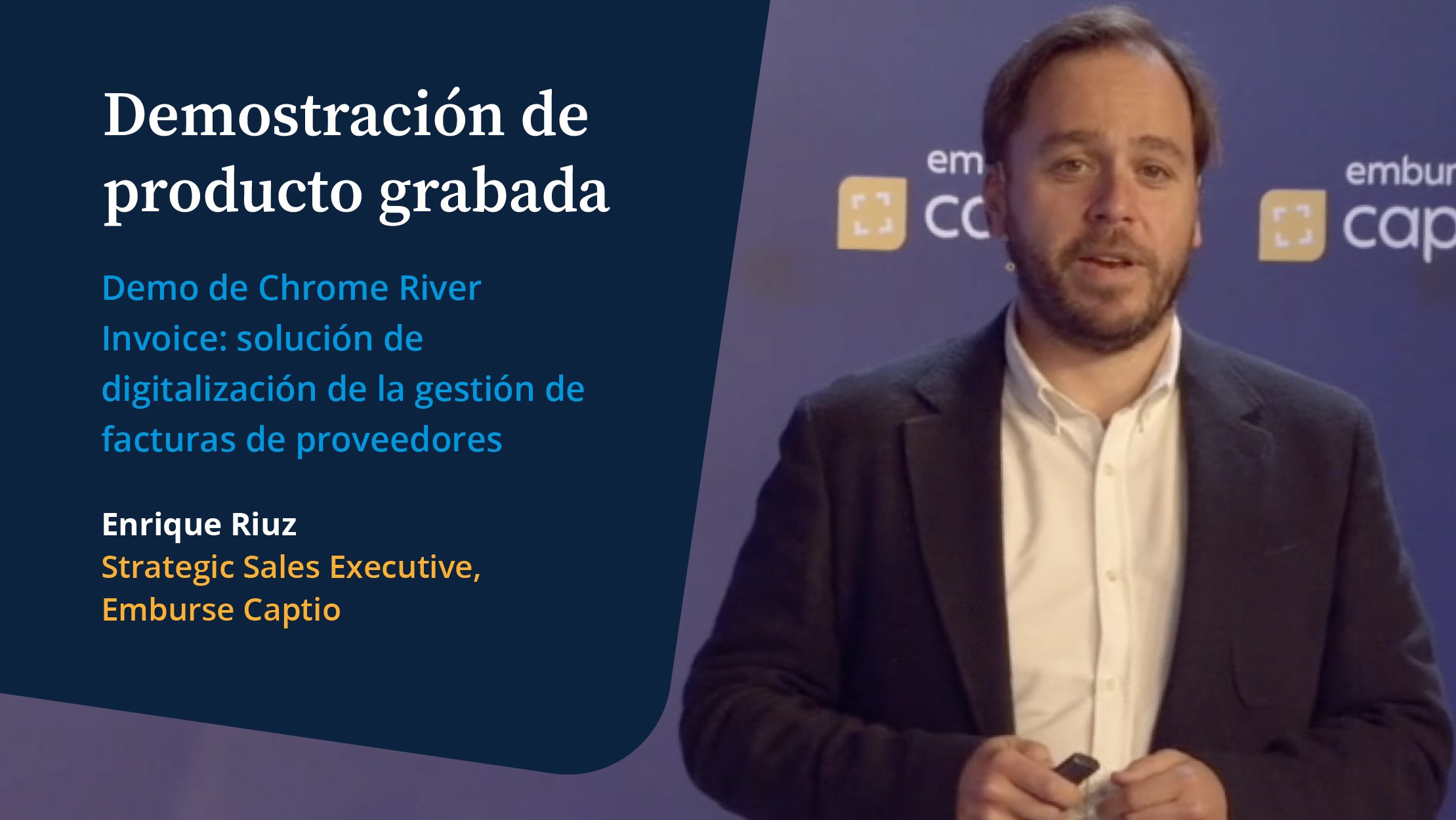 Demostración de producto grabada: Chrome River Invoice - Vídeos