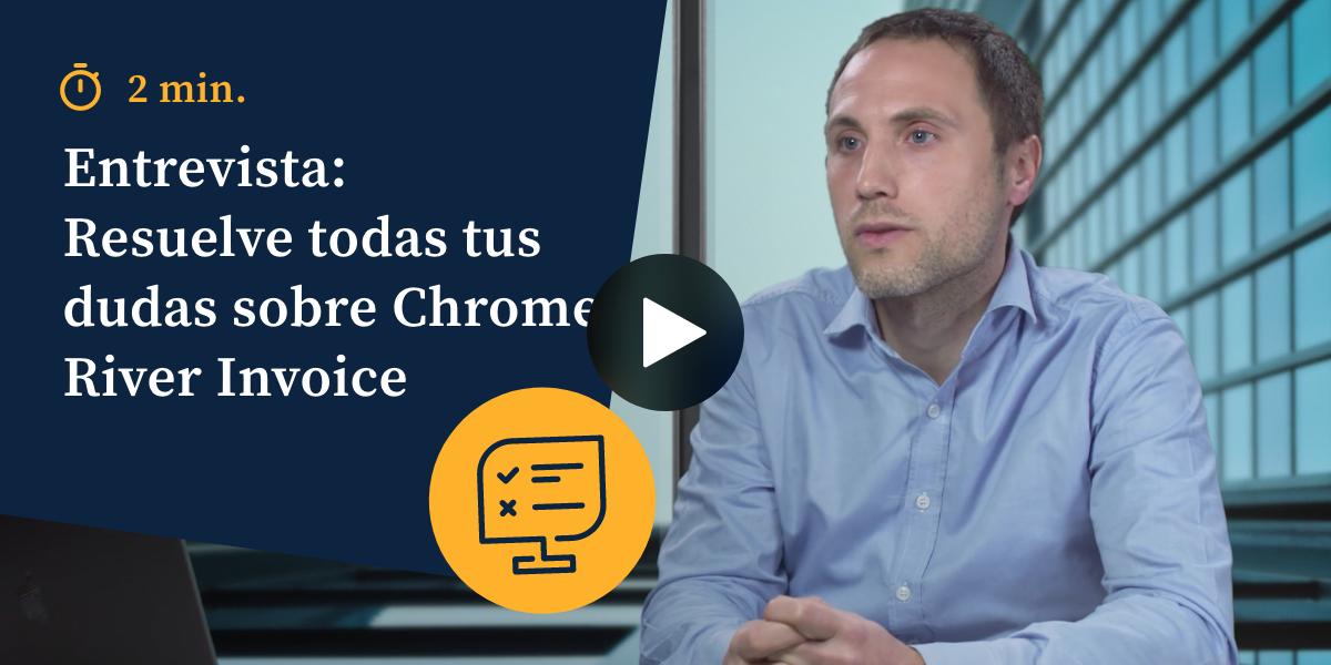 Entrevista: resuelve todas tus dudas sobre Chrome River Invoice - Vídeos
