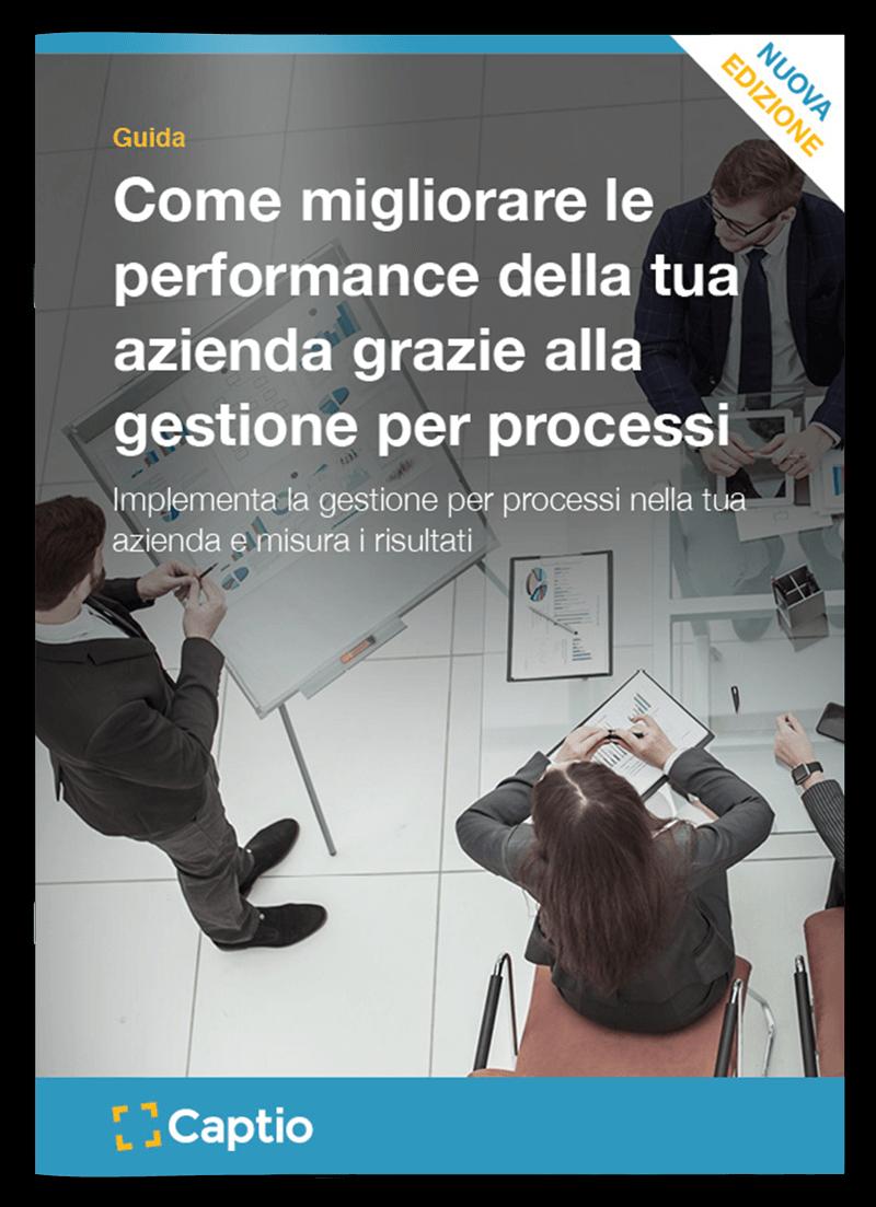 Guida: Come migliorare le performance della tua azienda grazie alla gestione per processi - eBooks