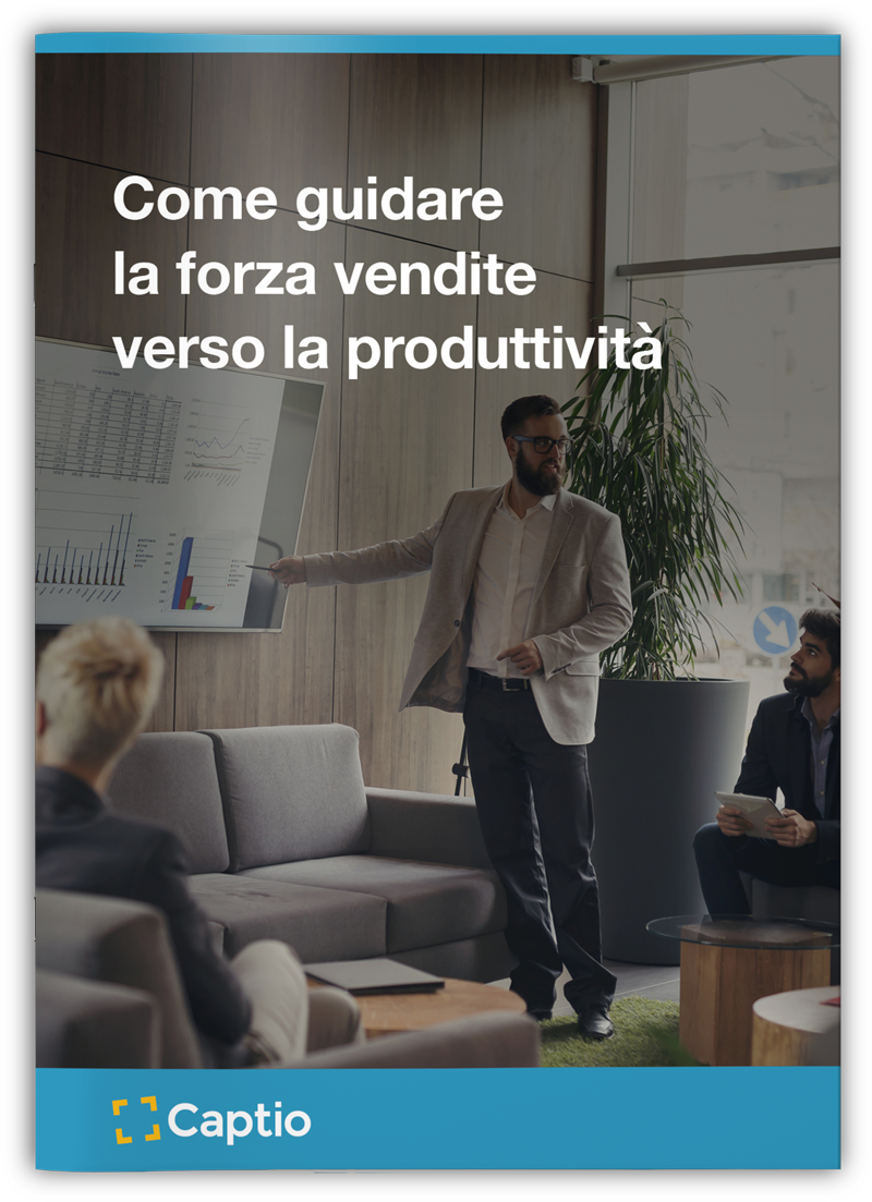Come guidare la forza vendite verso la produttività - eBooks