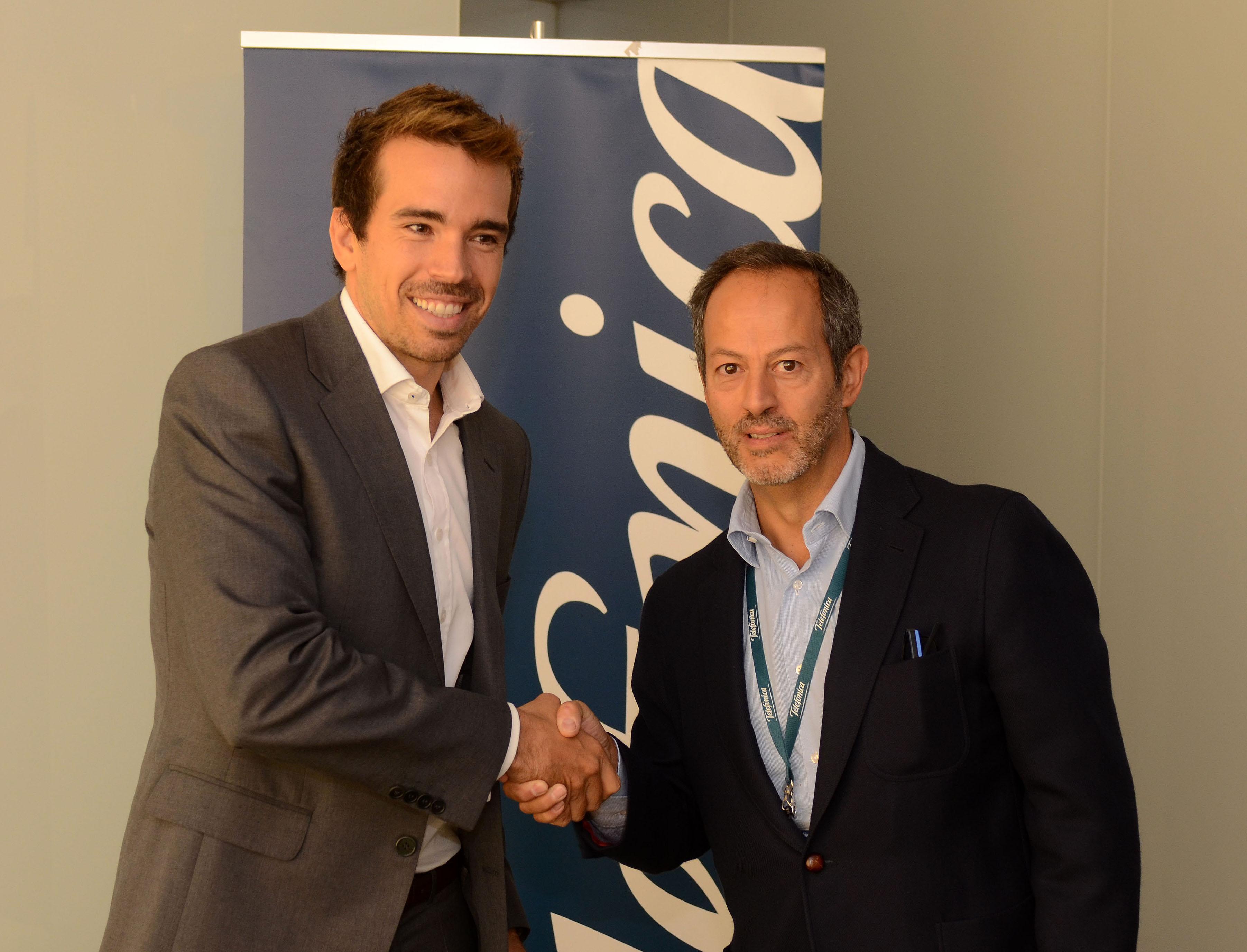 Captio firma un acuerdo comercial con Telefónica para la gestión digital y automatizada de los gastos de empresa