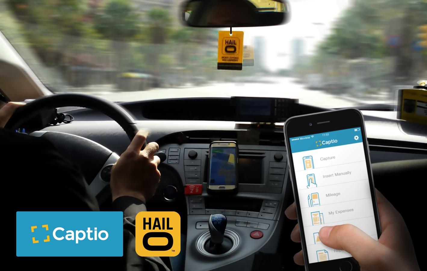 Tu taxi en Captio con Hailo