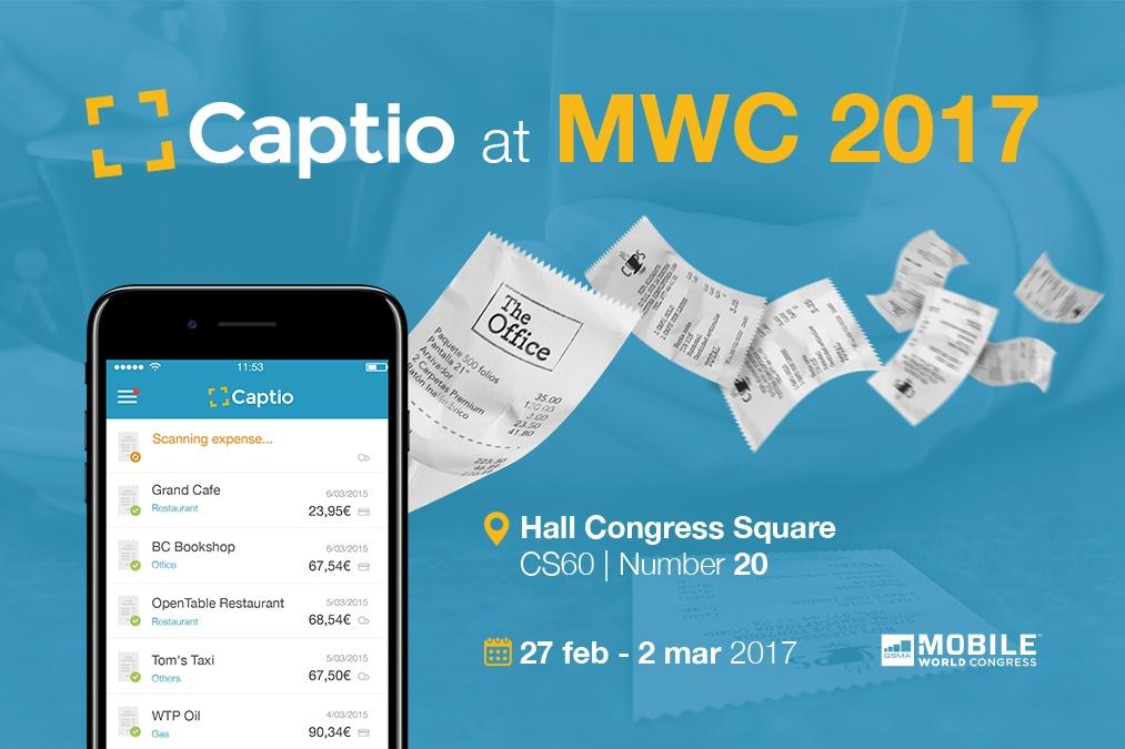 Captio en el Mobile World Congress 2017
