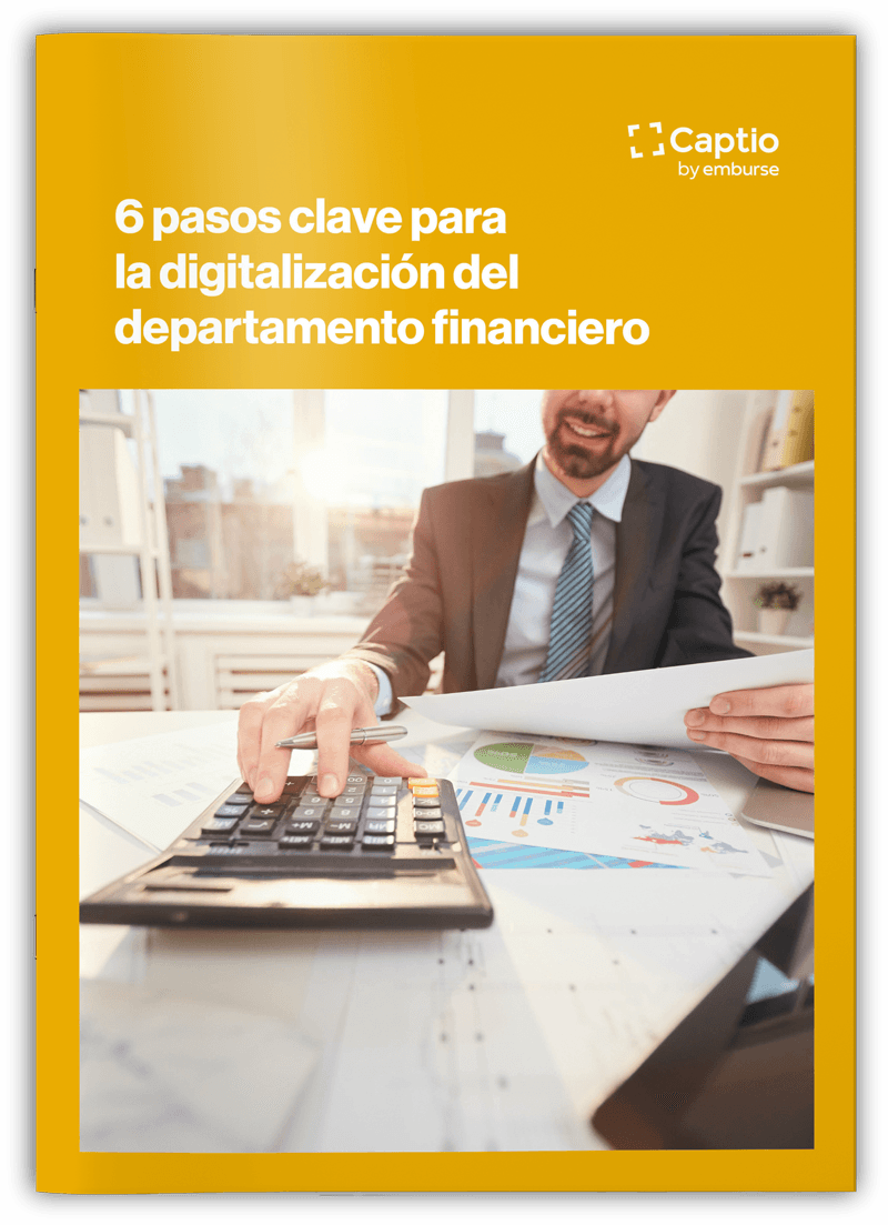 6 pasos clave para la digitalización del departamento financiero - eBooks