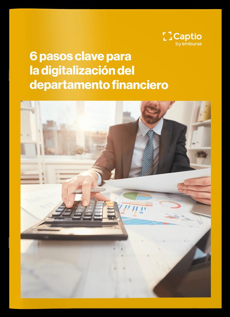 6 pasos clave para la digitalización del departamento financiero - eBooks