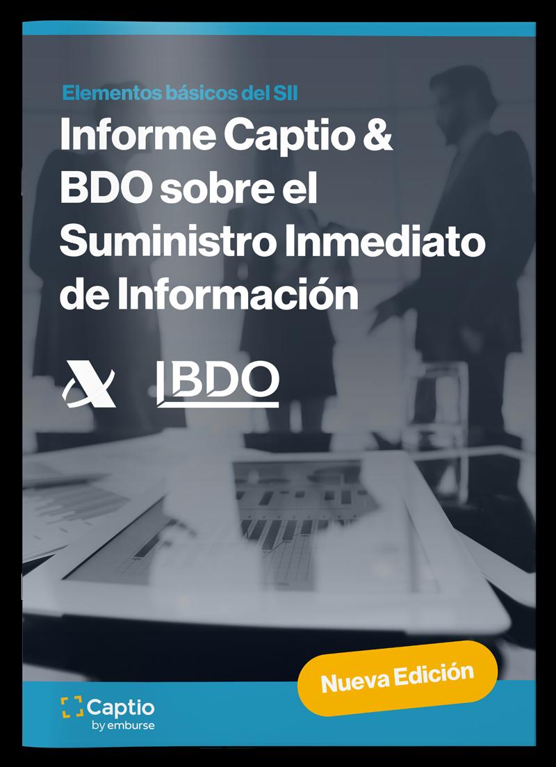 Informe Captio & BDO sobre el Suministro Inmediato de Información - Informes