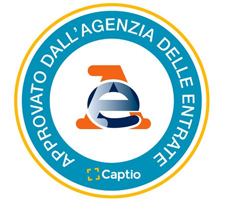 Captio ha ricevuto il parere positivo dall'Agenzia delle Entrate