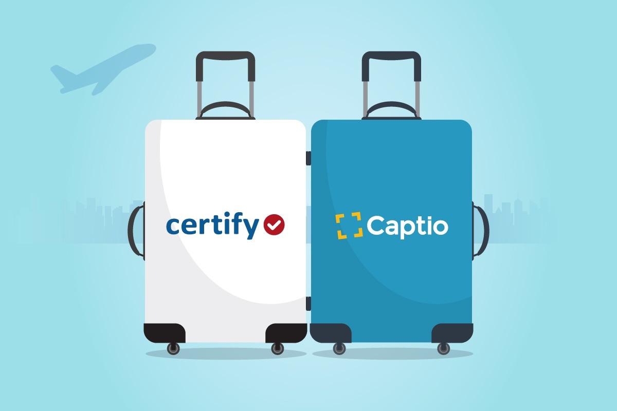 Captio e Certify uniscono le forze