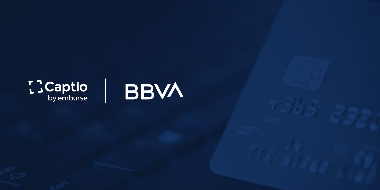 Captio y BBVA integran sus soluciones de tarjetas corporativas y liquidación de gastos