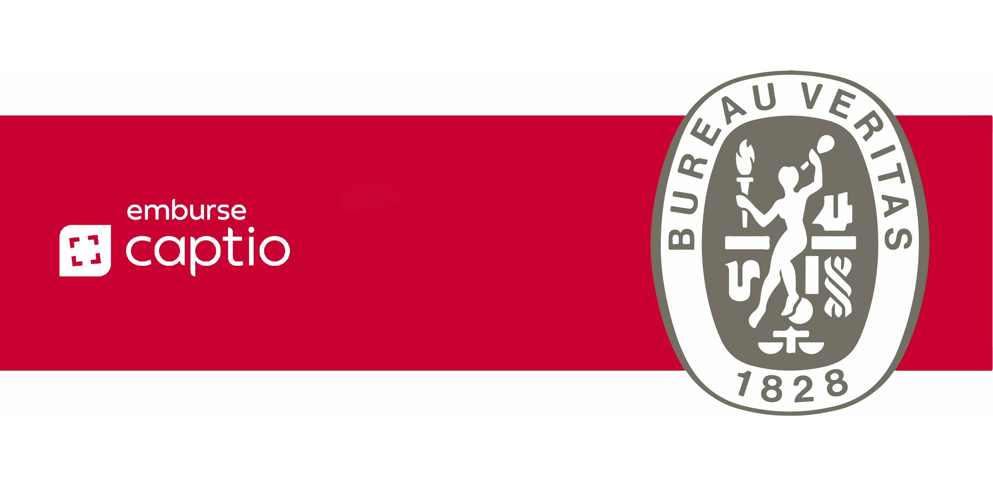 Emburse Captio ottiene il certificato Bureau Veritas come azienda di software