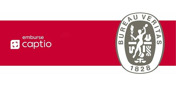Emburse Captio, primera empresa de software con certificado Bureau Veritas