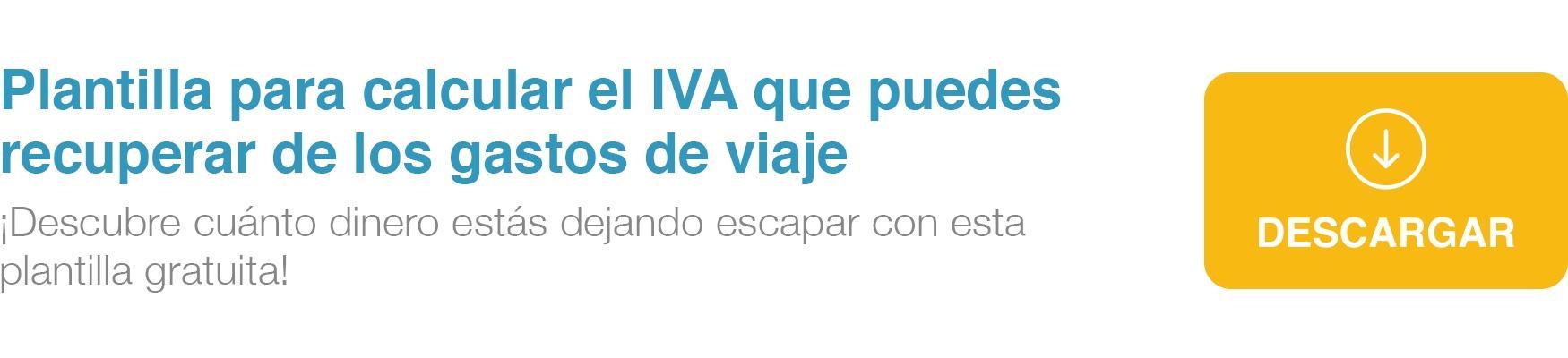 Calcula cuánto IVA puedes recuperar