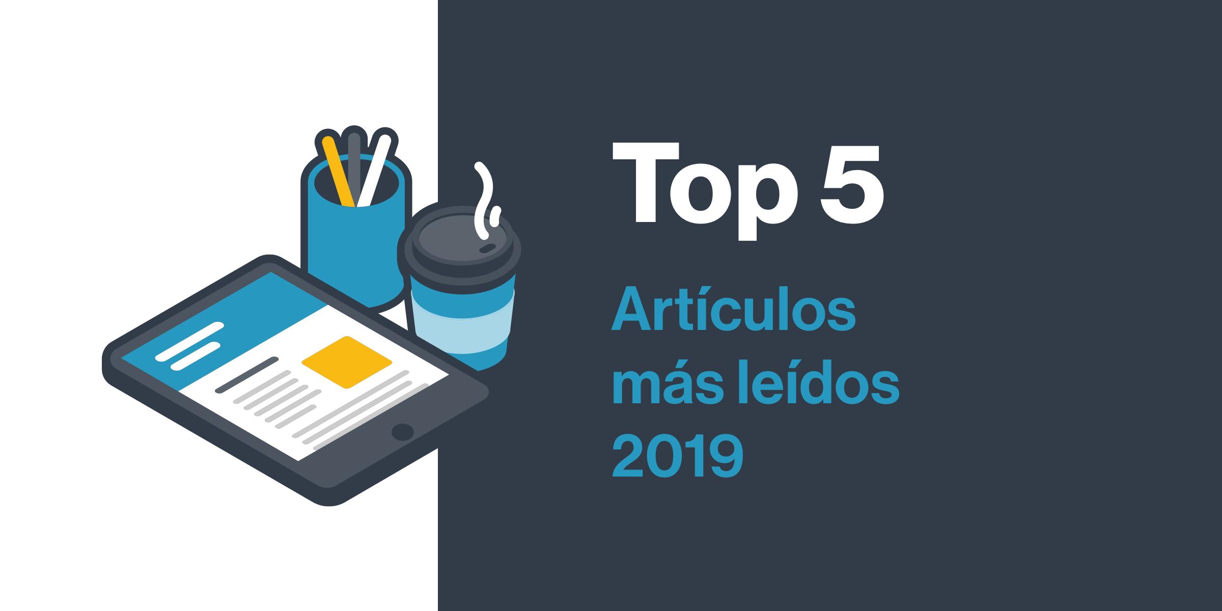Estos son los 5 artículos más leídos del blog de Captio de 2019